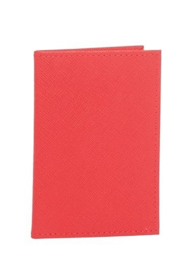 Cotton Bar %100 Deri Erkek Cüzdan Kırmızı